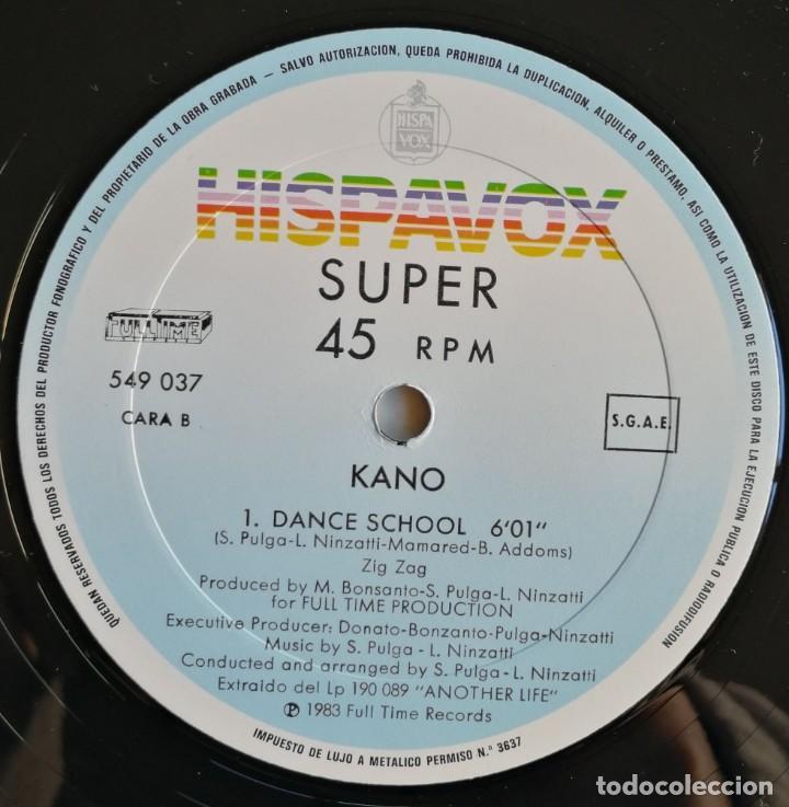 Discos de vinilo: Kano-Another Life Dance School, Hispavox 549 037, CON HOJA PROMOCIONAL - Foto 4 - 194717888