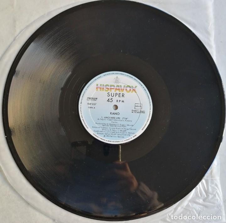 Discos de vinilo: Kano-Another Life Dance School, Hispavox 549 037, CON HOJA PROMOCIONAL - Foto 5 - 194717888