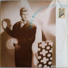 Discos de vinilo: KARL BISCUIT – SECRET LOVE, CRAMMED DISCS CRAM 054. Lote 194718621