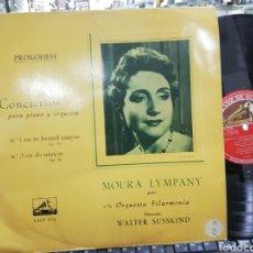 Discos de vinilo: MOURA LYMPANY LP 1960. Lote 194719018