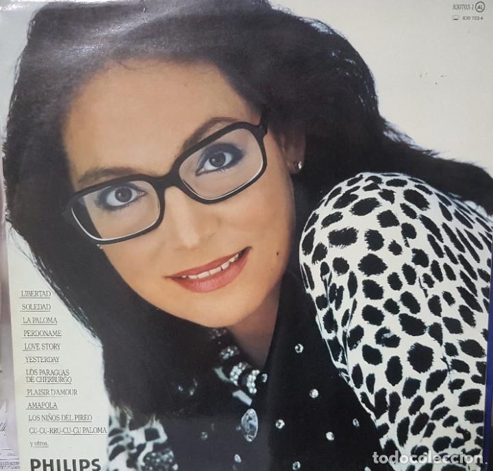 Discos de vinilo: 2 lotes de dobles LPs de Nana Mouskouri - Con toda el alma y Concierto en Aranjuez 1986 y 1989 - Foto 2 - 194719126