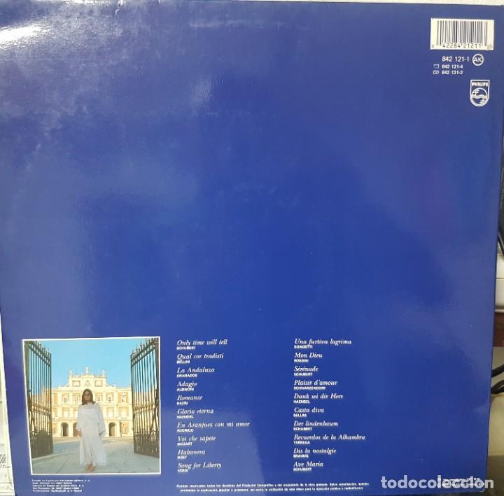 Discos de vinilo: 2 lotes de dobles LPs de Nana Mouskouri - Con toda el alma y Concierto en Aranjuez 1986 y 1989 - Foto 3 - 194719126