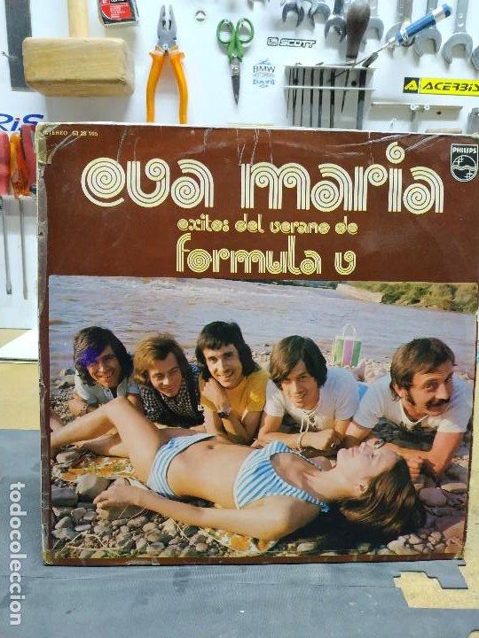 FORMULA V EVA MARIA. EXITOS DEL VERANO (Música - Discos - LP Vinilo - Grupos Españoles 50 y 60)
