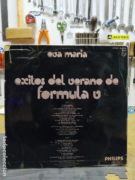 Discos de vinilo: FORMULA V EVA MARIA. EXITOS DEL VERANO - Foto 2 - 194720242