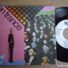 Discos de vinilo: EN TRANCE SG 7'' EL ANGULO OSCURO PROMOCIONAL PASAROCK 1988 POP RARO EX-. Lote 194721077