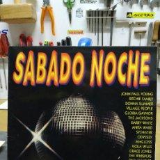 Discos de vinilo: SABADO NOCHE DISCO, ITALO, 2LP. Lote 194721261