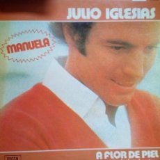 Discos de vinilo: JULIO IGLESIAS A FLOR DE PIEL. Lote 194721518