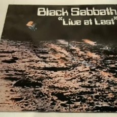 Discos de vinilo: BLACK SABBATH -LIVE AT LAST- (1985) LP DISCO VINILO. Lote 194722168
