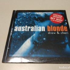 Discos de vinilo: 0220-AUSTRALIAN BLONDE DREW & CHERI 2 TRACKS CD NUEVO LIQUIDACIÓN!!N2. Lote 194722685