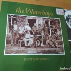 Discos de vinilo: THE WATERBOYS FISHERMAN'S BLUES LP SPAIN INSERTO 1988. Lote 194723415