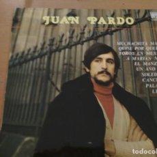 Discos de vinilo: JUAN PARDO LP SELLO CAUDAL. EDIT EN ESPAÑA. AÑO 1977. Lote 194723822
