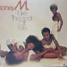 Discos de vinilo: BONEY M - TAKE THE HEAT OFF ME - ARIOLA ESPAÑA 1976 - POP ROCK BUEN ESTADO. Lote 194723917