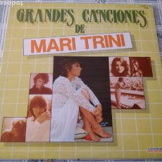 Discos de vinilo: DOBLE LP GRANDES CANCIONES DE MARI TRINI. HISPAVOX, 1983.. Lote 194724231