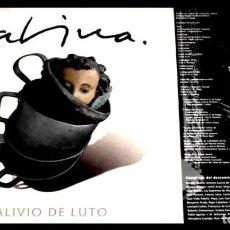 Discos de vinilo: V458 - JOAQUIN SABINA. ALIVIO DE LUTO. LP VINILO NUEVO. Lote 194724415