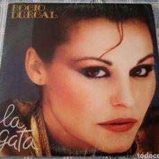 Discos de vinilo: LP ROCÍO DURCAL. LA GATA, 1981.. Lote 194724467