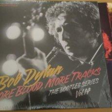 Discos de vinilo: BOB DYLAN MORE BLOOD, MORE TRACKS: THE BOOTLEG SERIES VOL. 14 DOBLE LP LIBRETO . Lote 194724572