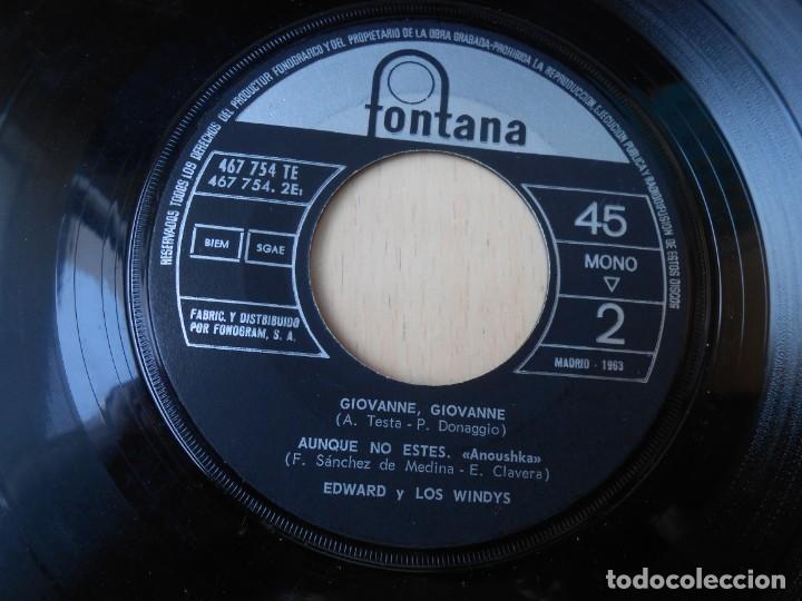 Discos de vinilo: WINDYS, LOS - EDWARD Y LOS WINDYS -, EP , AMOR, MON AMOUR, MY LOVE + 3, AÑO 1963 - Foto 5 - 194724628