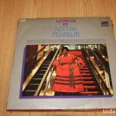 Discos de vinilo: ARETHA FRANKLIN - LO MEJOR DE ARETHA FRANKLIN - ATLANTIC HATS 421-77 - 1971. Lote 194724971