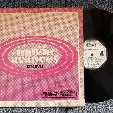 Discos de vinilo: MOVIE AVANCES OTOÑO. AÑO 1.982 - PROMOCIONAL.PABLO MILANES,CHARLES AZNAVOUR, IMAGINATION,DE BLANC, +. Lote 194725258