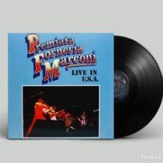 Discos de vinilo: PREMIATA FORNERIA MARCONI – LIVE IN U.S.A. - BRASIL 1977. Lote 194726208