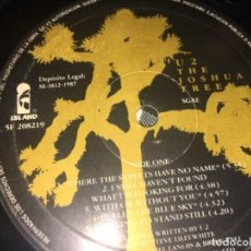 Discos de vinilo: U2 SIN CARÁTULA THE JOSHUA TREE. Lote 194726538