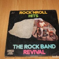 Discos de vinilo: THE ROCK BAND REVIVAL - ROCK'N ROLL HITS - ORLADOR 54536 - 1975. Lote 194726577