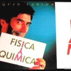 Discos de vinilo: V461 - JOAQUIN SABINA. FISICA Y QUIMICA. LP VINILO NUEVO. Lote 194726972