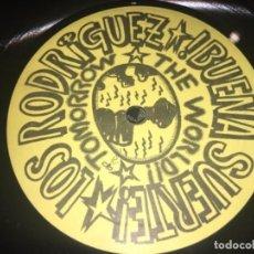 Discos de vinilo: LOS RODRÍGUEZ: BUENA SUERTE (SIN CARÁTULA). Lote 194727230