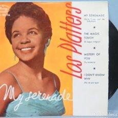 Discos de vinilo: EP. LOS PLATTERS. MY SERENADE. Lote 194727650