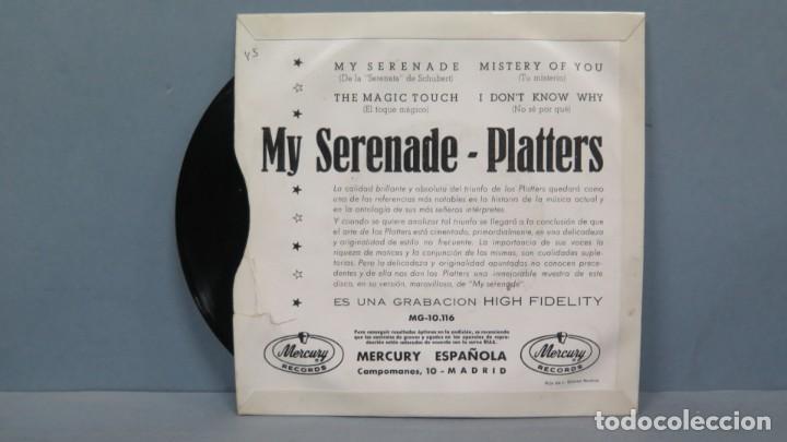 Discos de vinilo: EP. LOS PLATTERS. MY SERENADE - Foto 2 - 194727650