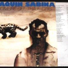 Discos de vinilo: V463 - JOAQUIN SABINA. EL HOMBRE DEL TRAJE GRIS. LP VINILO NUEVO. Lote 194727881