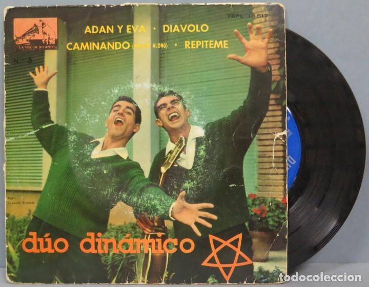 SINGLE. DUO DINAMICO. ADAN Y EVA (Música - Discos - Singles Vinilo - Grupos Españoles 50 y 60)