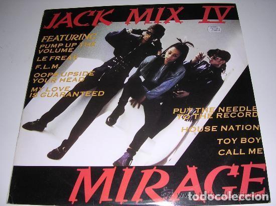 LP JACK MIX IV MIRAGE (Música - Discos de Vinilo - Maxi Singles - Disco y Dance)