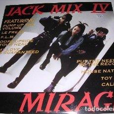 Discos de vinilo: LP JACK MIX IV MIRAGE. Lote 194730351