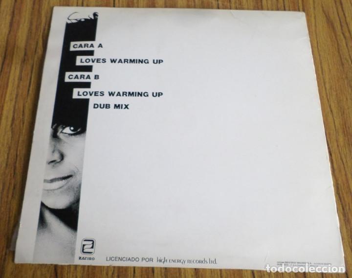 Discos de vinilo: SHIRLEY LEWIS - Loves warming up - Super 45 - Foto 2 - 194730501