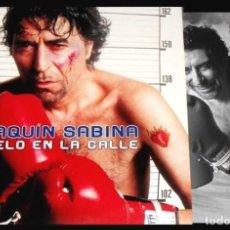 Discos de vinilo: V469 - JOAQUIN SABINA. DIMELO EN LA CALLE. DOBLE LP VINILO NUEVO. Lote 194730512