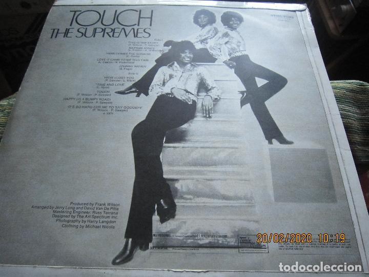 Discos de vinilo: THE SUPREMES - TOUCH LP - ORIGINAL INGLES - TAMLA MOTOWN RECORDS 1971 - STEREO - - Foto 7 - 194730691