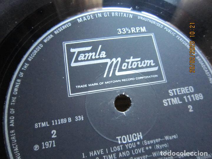 Discos de vinilo: THE SUPREMES - TOUCH LP - ORIGINAL INGLES - TAMLA MOTOWN RECORDS 1971 - STEREO - - Foto 13 - 194730691