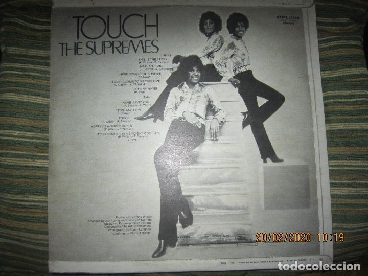 Discos de vinilo: THE SUPREMES - TOUCH LP - ORIGINAL INGLES - TAMLA MOTOWN RECORDS 1971 - STEREO - - Foto 15 - 194730691