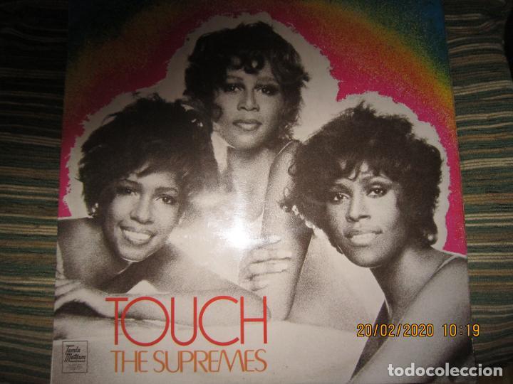 THE SUPREMES - TOUCH LP - ORIGINAL INGLES - TAMLA MOTOWN RECORDS 1971 - STEREO - (Música - Discos - LP Vinilo - Funk, Soul y Black Music)