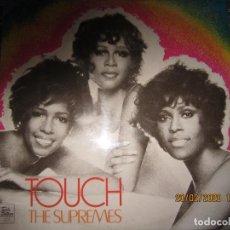 Discos de vinilo: THE SUPREMES - TOUCH LP - ORIGINAL INGLES - TAMLA MOTOWN RECORDS 1971 - STEREO -. Lote 194730691