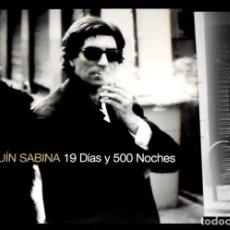 Discos de vinilo: V471 - JOAQUIN SABINA. 19 DIAS Y 500 NOCHES. DOBLE LP VINILO NUEVO. Lote 194730922