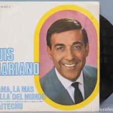Discos de vinilo: SINGLE. LUIS MARIANO. MAMA, LA MAS BELLA DEL MUNDO. Lote 194731471