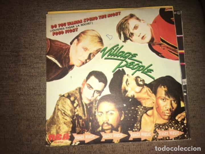"VILLAGE PEOPLE: DO YOU WANNA SPEND THE NIGHT 7"" (Música - Discos - Singles Vinilo - Otros estilos)"