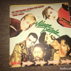 "Discos de vinilo: VILLAGE PEOPLE: DO YOU WANNA SPEND THE NIGHT 7"". Lote 194732032"