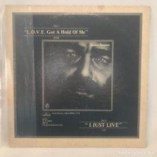 Discos de vinilo: DEMIS ROUSSOS – L.O.V.E. GOT A HOLD OF ME / I JUST LIVE 1978 US FUNKY SOUL DANCE RARO. Lote 194733767