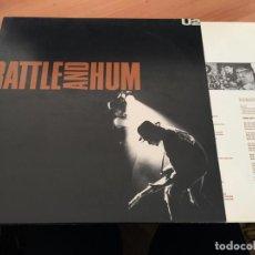 Discos de vinilo: U2 (RATTLE AND HUM) 2 LP ESPAÑA 1988 GAT. (B-10). Lote 194734037