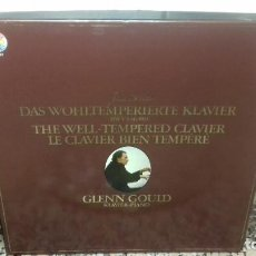 Discos de vinilo: J.S.BACH. GLENN GOULD. KLAVIER-PIANO. Lote 194735598