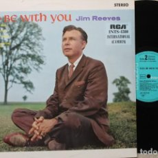 Discos de vinilo: JIM REEVES GOD BE WITH YOU LP VINYL MADE IN GERMANY. Lote 194735762