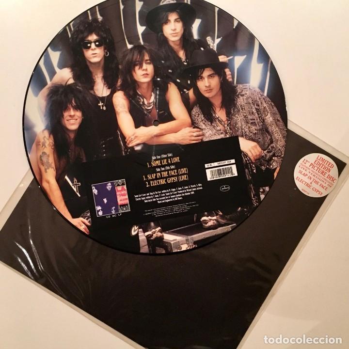 Discos de vinilo: Maxisingle Vinilo 45 RPM, L.A. GUNS, Limited edition 12in Picture Disc, Phonogram U.K.- 1991 - RARO - Foto 5 - 194735795